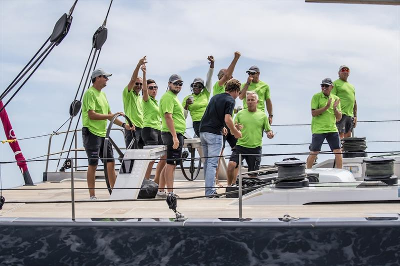 Win Win is the Overall Winner at the 2019 Superyacht Cup Palma photo copyright Sailing Energy taken at Real Club Náutico de Palma and featuring the  class