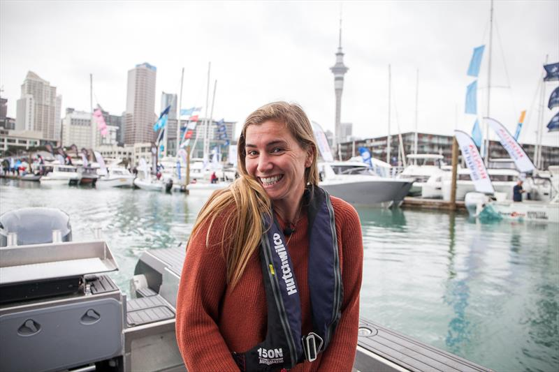 Bianca Cook -Auckland On The Water Boat Show - Day 1 - October 3, 2019 - photo © LiveSailDie