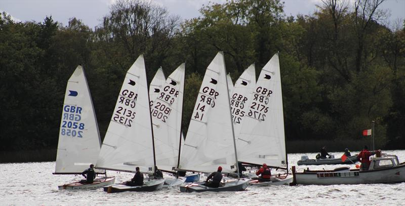 OKs at Sout Staffs photo copyright South Staffs SC taken at South Staffordshire Sailing Club and featuring the OK class