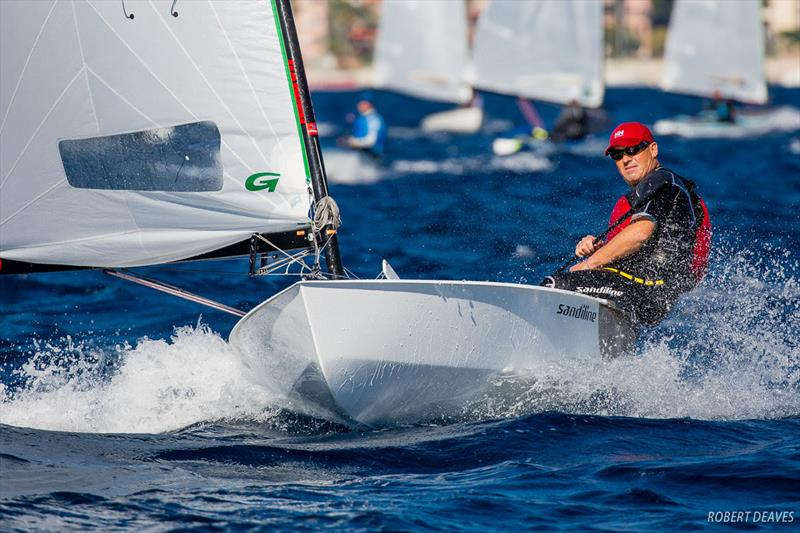 Bo Petersen - 2018 OK Dinghy European Championship - Day 1 photo copyright Robert Deaves taken at  and featuring the OK class