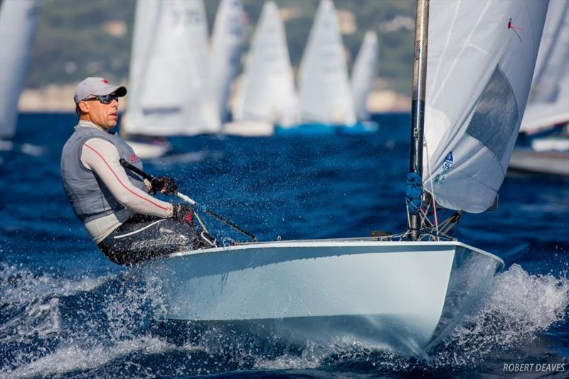 Thomas Hansson-Mild - OK Dinghy World Championship photo copyright Robert Deaves taken at  and featuring the OK class