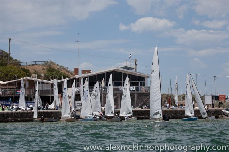 Black Rock Yacht Club during the 2014 OK Dinghy World Championship - photo © Alex McKinnon Photography
