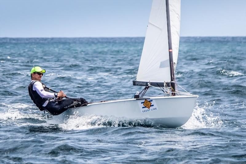 Nick Craig won a record fifth title in 2017 OK Dinghy World Championship in Barbados - photo © Robert Deaves