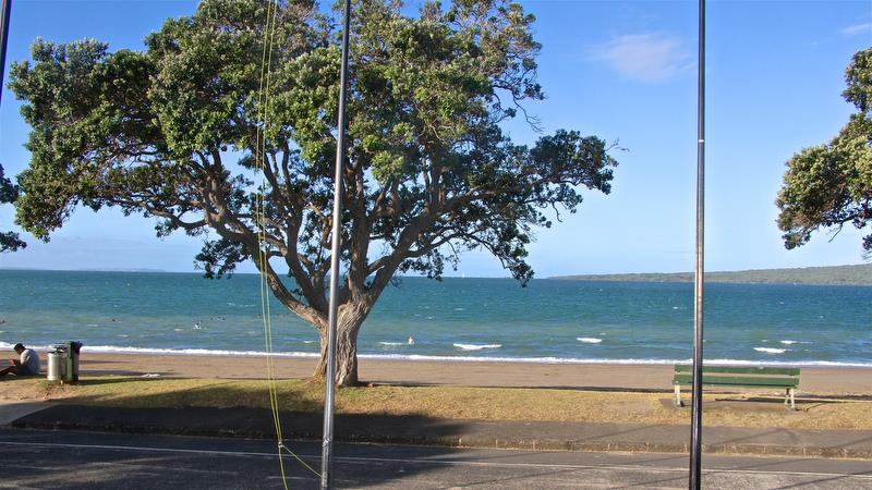 Auckland's North Shore is renowned for its sea-breezes - Symonite OK Worlds, Wakatere BC - February photo copyright Richard Gladwell taken at Wakatere Boating Club and featuring the OK class