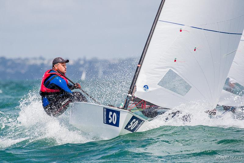 Practice Race  - 2019 Symonite Int OK Dinghy World Championships, February 2019 photo copyright Robert Deaves taken at Wakatere Boating Club and featuring the OK class