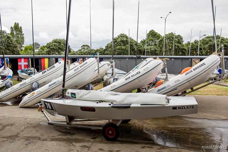 WBC Life Members remembered - 2019 Symonite Int OK Dinghy World Championships, February 2019 photo copyright Robert Deaves taken at Wakatere Boating Club and featuring the OK class