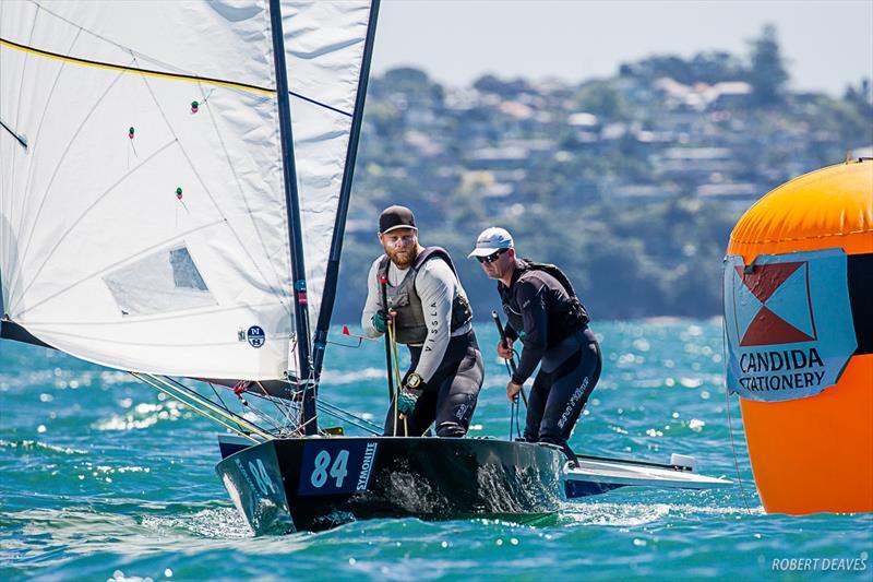 Symonite OK Worlds - Day 1: Kiwis dominate first day in Auckland