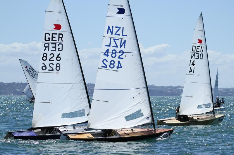Leg 4 - Symonite OK World Championships - Day 1, February 10, 2019 photo copyright Richard Gladwell taken at Wakatere Boating Club and featuring the OK class