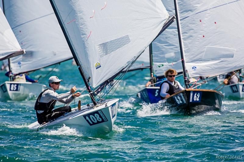Josh Armit - Symonite OK Dinghy Worlds, Day 3 - photo © Robert Deaves