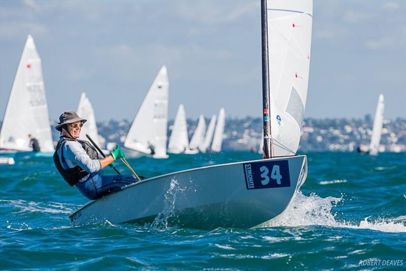 Rohan Lord - Symonite OK Dinghy Worlds, Day 4 - photo © Robert Deaves