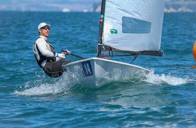 Freddy Loof - Day 4 - 2019 Symonite OK Worlds - February 2019, Wakatere Boating Club - photo © Richard Gladwell