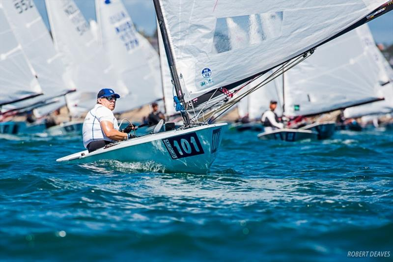 Thomas Hansson-Mild - Symonite OK Dinghy Worlds, Day 5 - photo © Robert Deaves