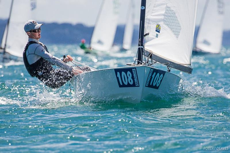 Josh Armit - Symonite OK Dinghy Worlds, Day 5 - photo © Robert Deaves