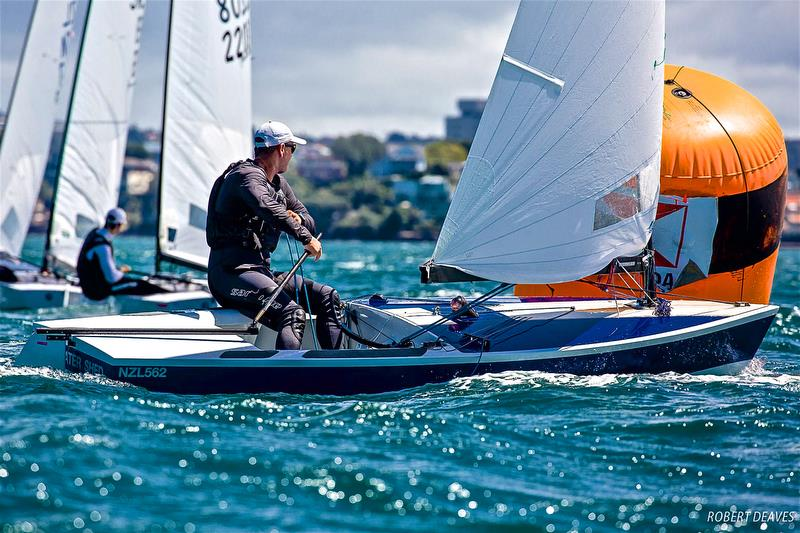 Dan Slater - 2019 Symonite OK World Championship - February 15, 2019 - Wakatere Boating Club - photo © Robert Deaves