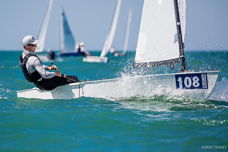 Josh Armit - 2019 Symonite OK Dinghy World Championship - photo © Robert Deaves