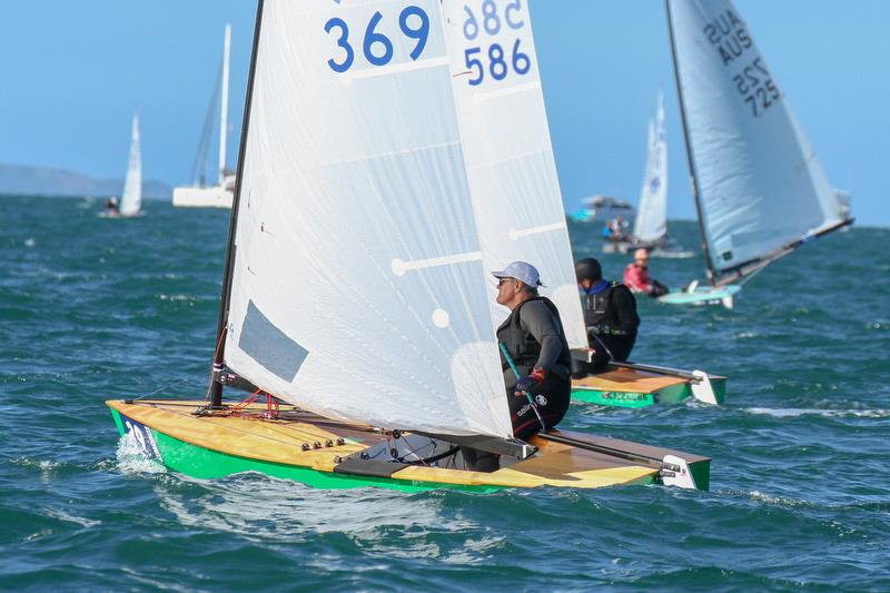 John Douglas (369), who was top Youth in the inaugural NZ OK Dinghy Nationals in January 1964, competed in the 2019 Symonite OK Worlds, 55 years later, beating his younger brother Martin (586)  - photo © Richard Gladwell