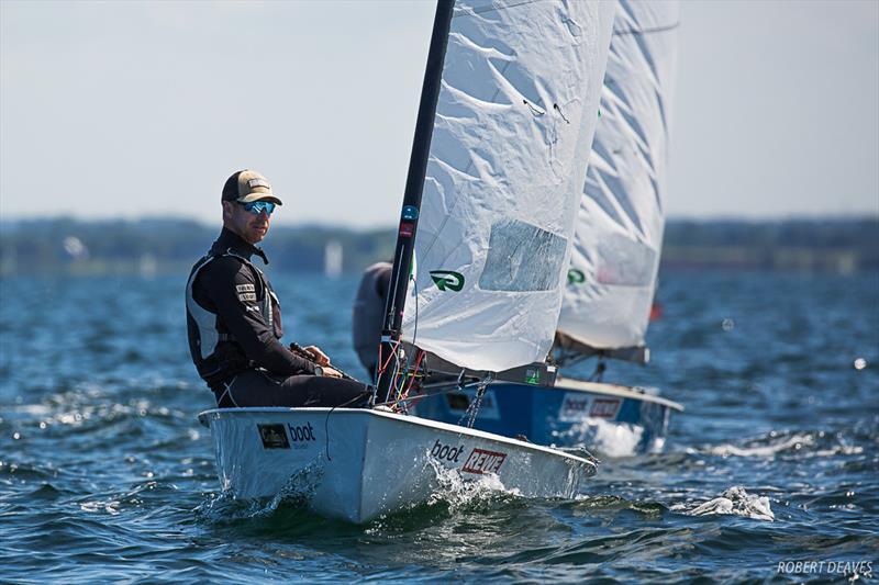 OK Dinghy European Championship at Kiel, Germany - Day 1: Fredrik Lööf takes early lead