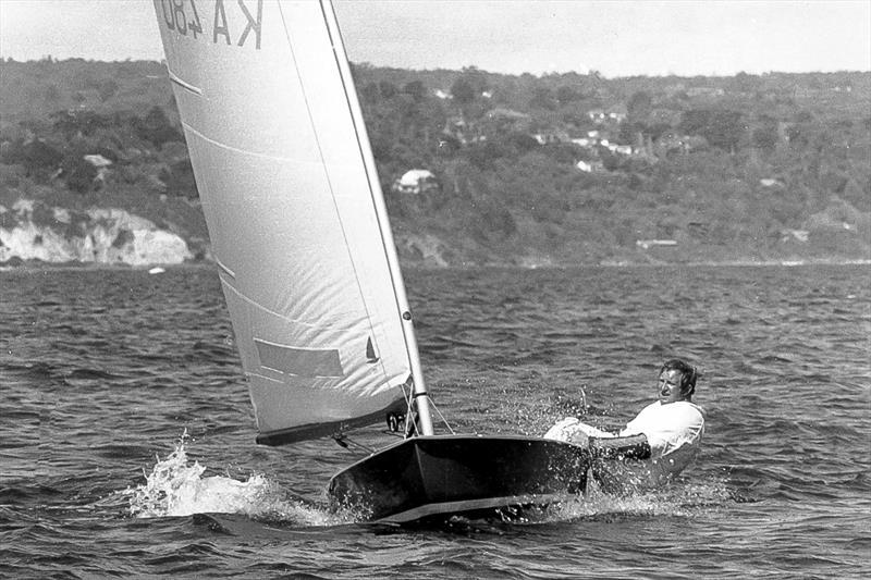 Bill Bell, Australian OK Dinghy Champion (1942-2020) - photo © Australian IOKDA