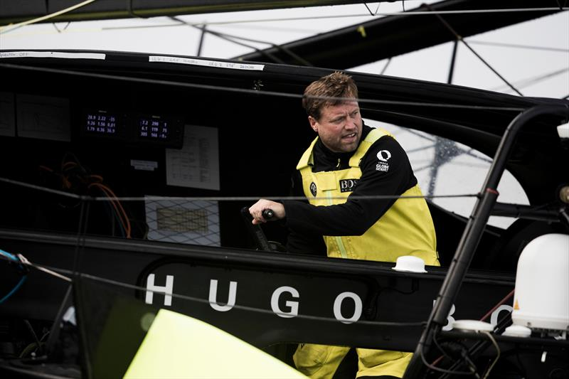 Alex Thomson is making his lone northerly option pay as he continues to lead the IMOCA fleet in the Route du Rhum - Destination Guadeloupe - photo © Lloyd Images