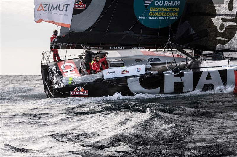 The IMOCA 60 Charal - photo © Austin Wong / The Ocean Race
