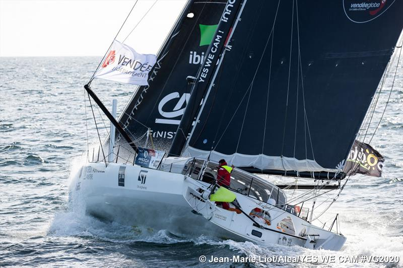 Jean Le Cam during the Vendée Globe - photo © Jean-Marie Liot / Alea YES WE CAM #VG2020