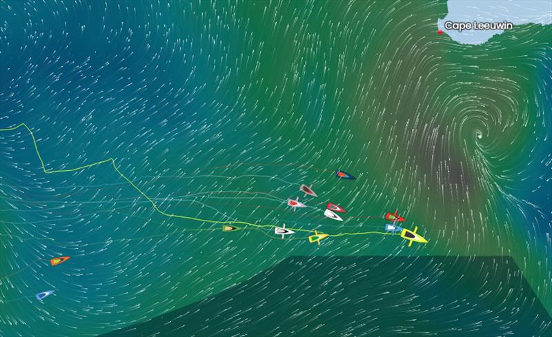 Vendée Globe Position Report 17H00 UTC 08/12/2020 - photo © #VG2020