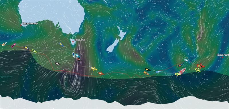 Vendée Globe Position Report 04H00 UTC 27/12/2020 - photo © #VG2020