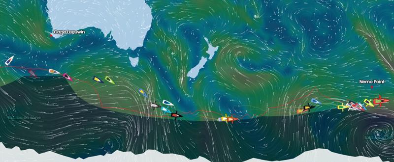 Vendée Globe Position Report 04H00 UTC 29/12/2020 - photo © #VG2020