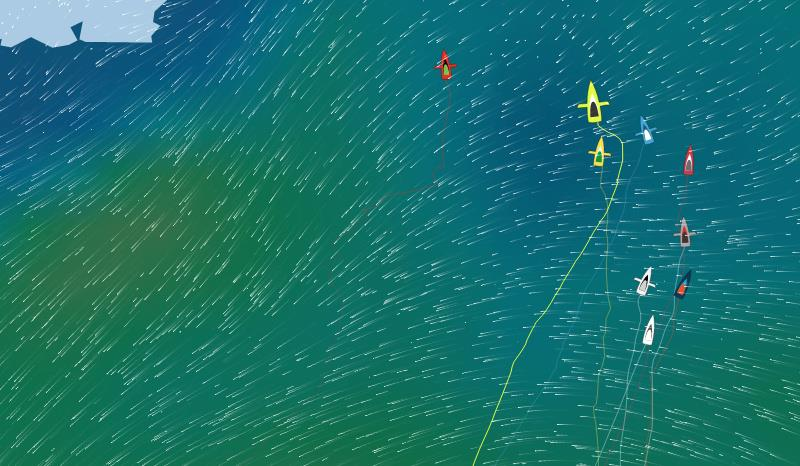 Vendée Globe Leading Group Position Report 08H00 UTC 12/01/2021 - photo © Vendée Globe