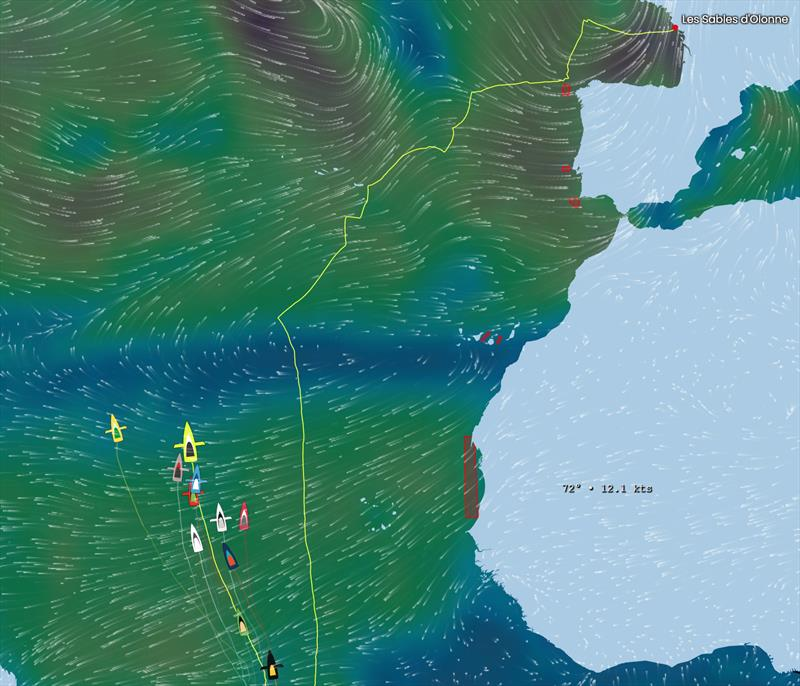 Vendée Globe Position Report 17H00 UTC 20/01/2021 - photo © Vendée Globe