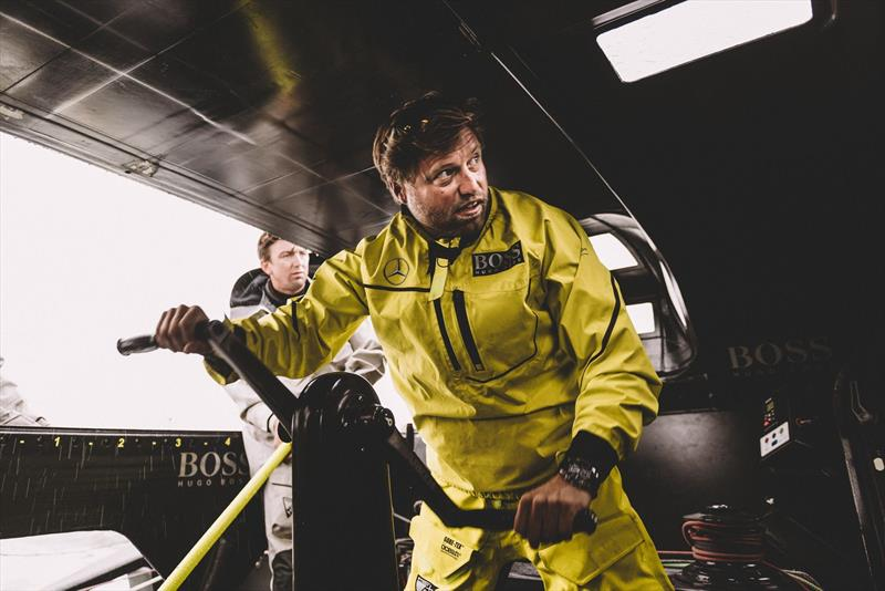 The Volvo edition of the IMOCA60 will be likely to provide more crew protection - photo © Hugo Boss