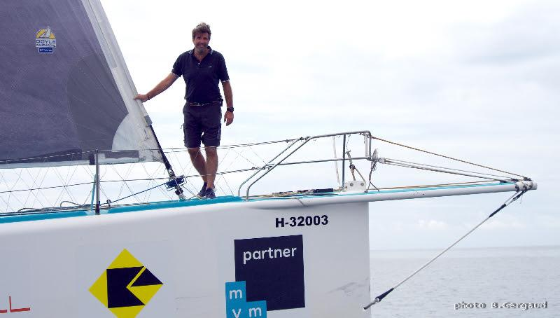 Belgian skipper Denis Van Weynbergh - photo © B. Gergaud / EyeSea
