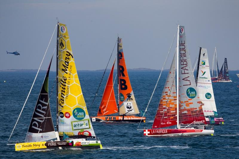 Start of the Route du Rhum-Destination Guadeloupe - photo © Alexis Courcoux