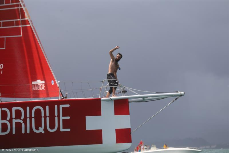 Alan Roura (La Fabrique) - 2018 Route du Rhum-Destination Guadeloupe - photo © IMOCA
