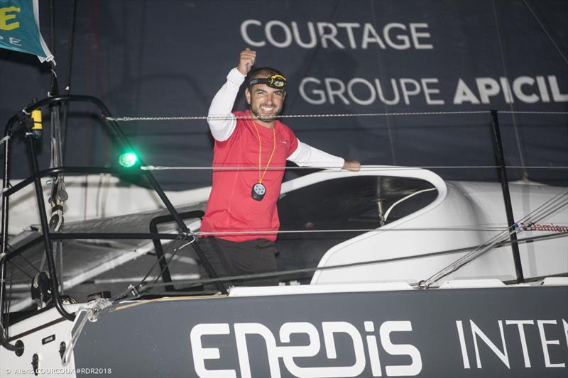 Damien Seguin (Groupe Apici) - 2018 Route du Rhum-Destination Guadeloupe - photo © IMOCA