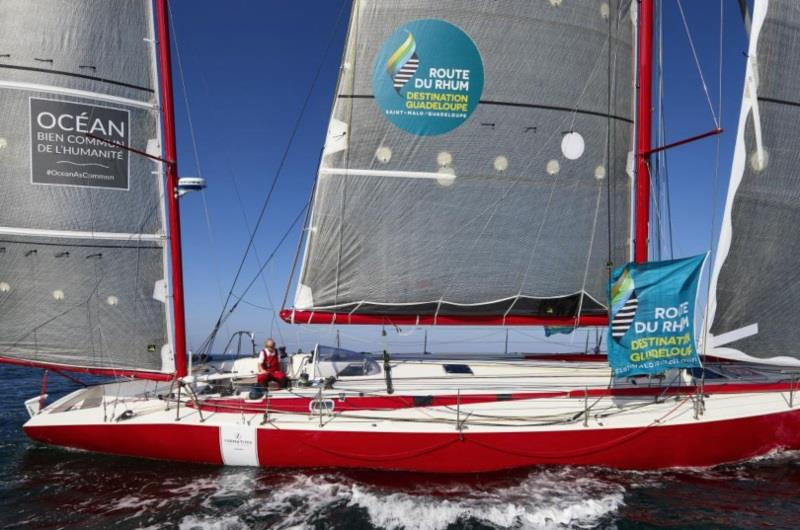 IMOCA history in the form of Jean-Marie Patier's Le Cigare Rouge competing in the IRC fleet - photo © Benoit Stichelbaut