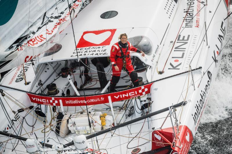 Sam Davies will compete with past winner Paul Meilhat on Initiatives Coeur - Rolex Fastnet Race - photo © Vincent Curutchet / Initiatives Coeur