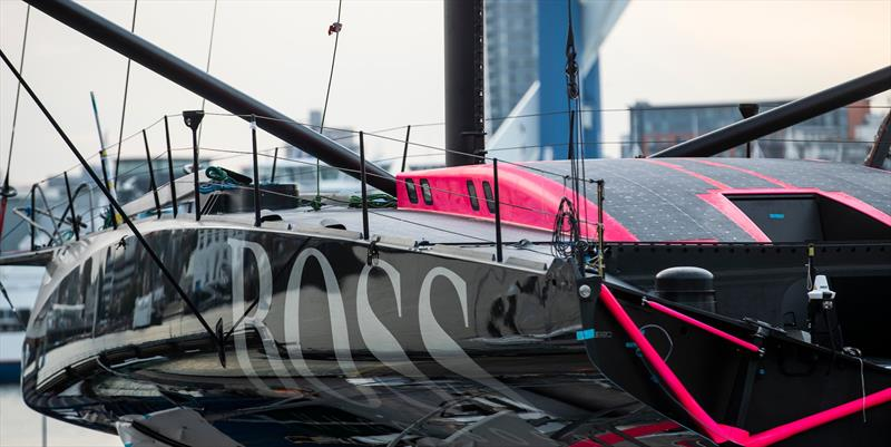 Latest images from the radical new Hugo Boss aimed at the singlehanded Vendee Globe round the world race - photo © Lloyd Images