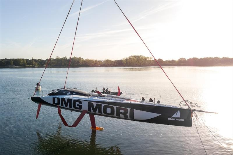 Kojiro Shiraishi's DMG Mori photo copyright DMG Mori taken at  and featuring the IMOCA class