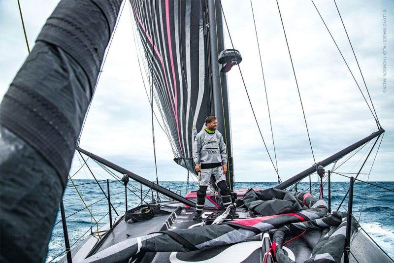Alex Thomson - photo © Lloyd Images / Alex Thomson Racing