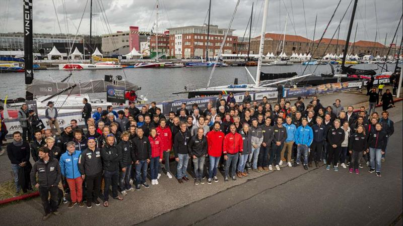 Breakages shake up 10-day countdown to start of Transat Jacques Vabre Normandie Le Havre