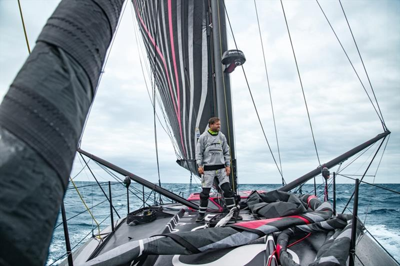 Alex Thomson aboard Hugo Boss - Transat Jacques Vabre - photo © Lloyd Images / Alex Thomson Racing