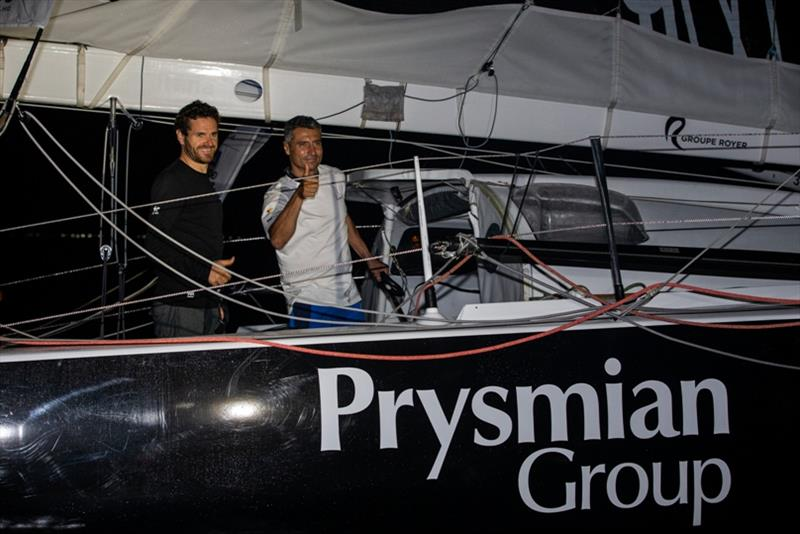 Prysmian Group skippers Giancarlo Pedote and Anthony Marchand take 17th place of the Imoca category of the Transat Jacques Vabre - photo © Jean-Marie Liot / Alea