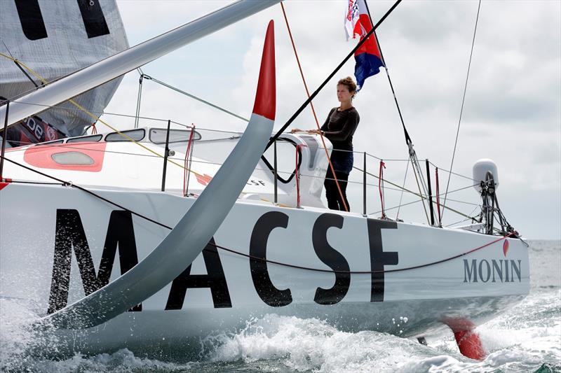 Isabelle Joschke (Macsf) Vendée - Arctique - Les Sables d'Olonne © François Van Malleghem / Imoca