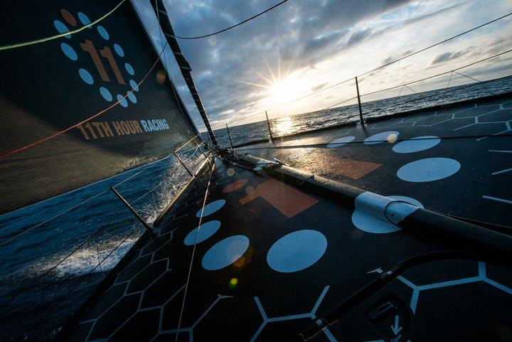 11th Hour Racing's summer 2020 transatlantic run photo copyright Image courtesy of 11th Hour Racing/Amory Ross taken at  and featuring the IMOCA class