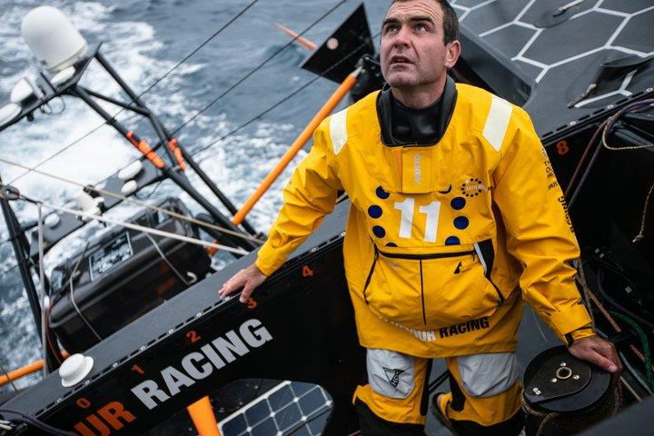 Charlie Enright, skipper of 11th Hour Racing in the 2021-2022 edition of The Ocean Race photo copyright Image courtesy of 11th Hour Racing/Amory Ross taken at Newport Yacht Club  and featuring the IMOCA class