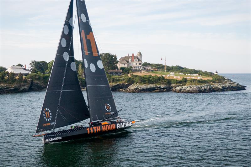 The 11th Hour Racing Team returns home to Newport, Rhode Island after a recent transatlantic passage - photo © Image courtesy of the 11th Hour Racing Team/Amory Ross