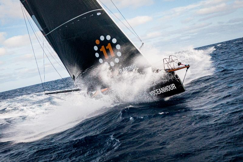 11th Hour Racing Team crossing the North Atlantic. - photo © Amory Ross / 11th Hour Racing
