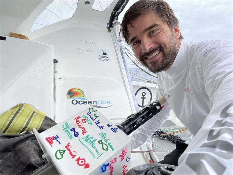 Boris Herrmann has deployed an Argo float from Seaexplorer YC de Monaco in the Vendee Globe. - photo © Boris Herrmann