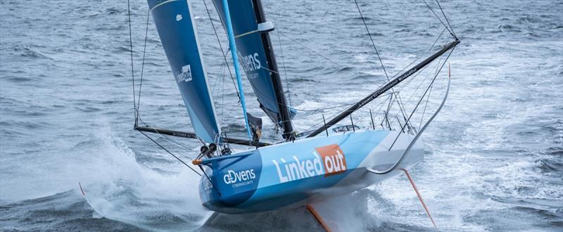 LinkedOut team -  Vendée Globe - photo © Vendée Globe